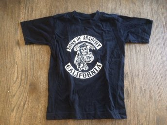 Sons of Anarchy t-shirt strl 116