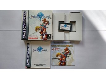 GBA/Game Boy Advance: Sword of Mana