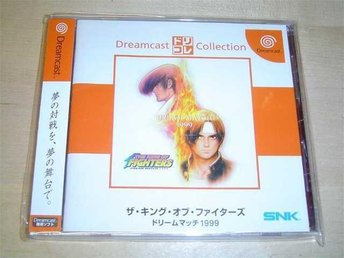 THE KING OF FIGHTERS 99 DREAM MATCH SEGA DREAMCAST JAPANSKT