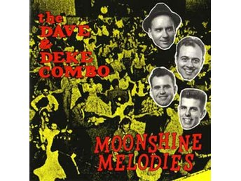 Dave and Deke Combo, the - Moonshine Melodies - LP NY - FRI FRAKT