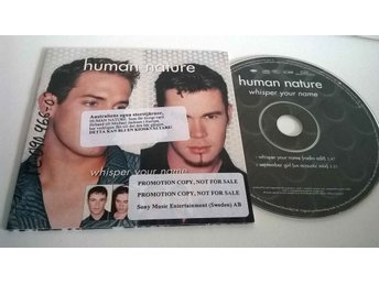 Human Nature - Whisper your name, single CD, promo