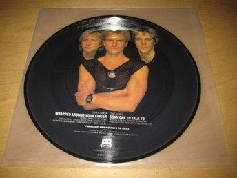 THE POLICE - WRAPPED AROUND YOUR FINGER.  BILD-VINYLSINGEL.