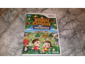 Wii - Animal Crossing lets go to the city
