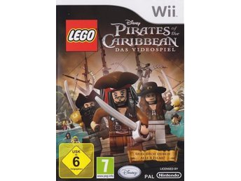 Lego Pirates of the Caribbean The Video Game Nintendo Wii PAL Disney - Liverpool - Lego Pirates of the Caribbean The Video Game Nintendo Wii PAL Disney - Liverpool
