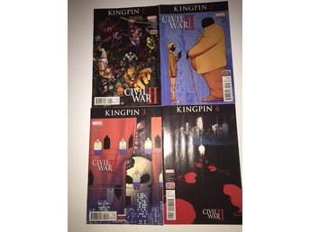 Civil War II Kingpin 1-4 Complete (2016) 99sek!!!