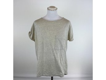 Fifth Avenue Shoe Repair, T-shirt, Strl: M, Beige, Skick: Normalt