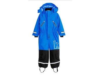 NY KAXS Vinteroverall Blå strl 104 - Taberg - NY KAXS Vinteroverall Blå strl 104 - Taberg