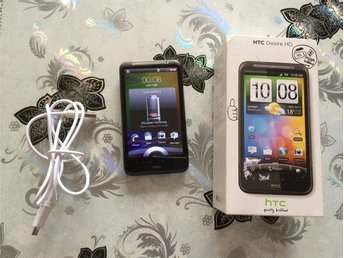HTC DESIRE HD PD98100 +8MP +3G + WIFI + USB LADDARE+Kartong!!!
