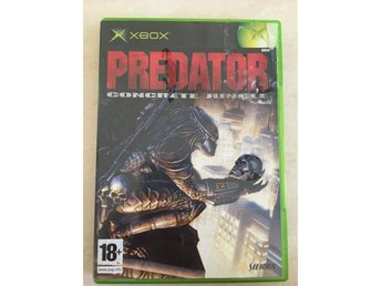 Xbox spel PREDATOR concrete jungle