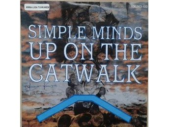 "Simple Minds title* Up On The Catwalk* Synth-pop 7"" EU"