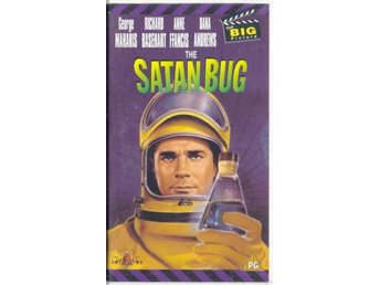 The Satan bug - George Maharis/Anne Francis - Ej text