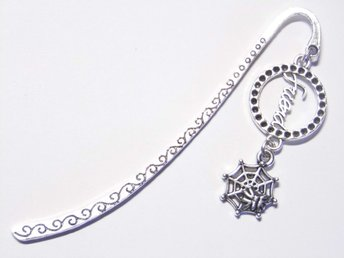 Spindelnät bokmärke / Spiderweb bookmark