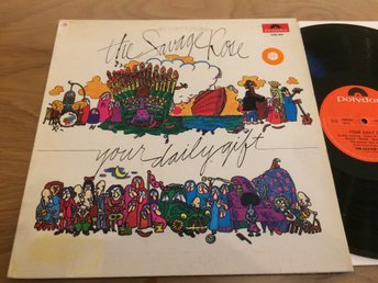 THE SAVAGE ROSE your daily gift LP -70 POLYDOR 2380004 psych prog