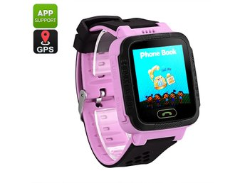 Kids GPS Tracker Watch - GSM Calls, Messages, GPS, LBS, Digital Fence, App Suppo