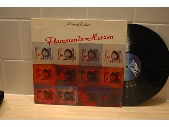 Michael Rother Flammende Herzen LP Sky kraut rock Conny Plank Liebezeit CAN