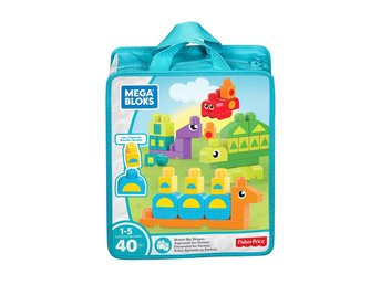 Mega Bloks Match My Shapes Building Set