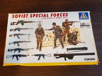 Italeri Soviet Special Forces Soldiers & arms 1:35