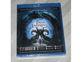 Pans Labyrint 2006 - Svensk Text - Blu Ray Bluray Pan Labyrinth - NY / INPLASTAD