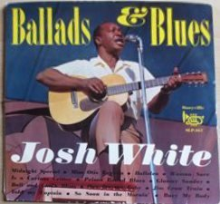 LP Josh White ‎– Ballads & Blues