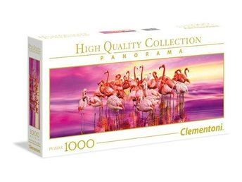 1000 pcs. High Quality Collection Panorama FLAMINGO DANCE