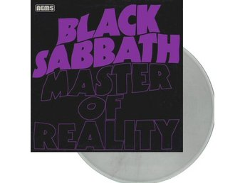 Black Sabbath -Master of reality p Clear vinyl Doom Ozzy