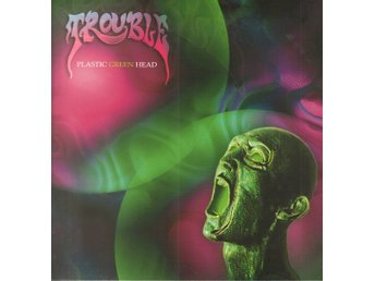 TROUBLE - PLASTIC GREEN HEAD. LP