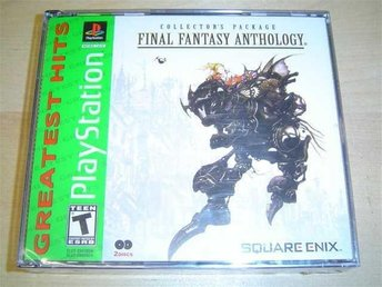 FINAL FANTASY ANTHOLOGY SONY PLAYSTATION *NYTT*