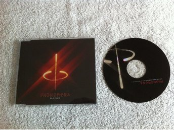 Phenomena - Banzi. CD-singel.