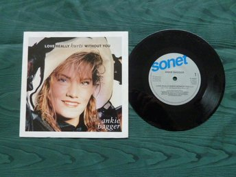 ANKIE BAGGER, LOVE REALLY HURTS WITHOUT YOU,  MINI LP, LP-SKIVA