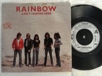 Rainbow-Can't happen here TOPPEX