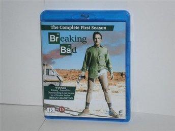 BREAKING BAD (Blu-ray) - SÄSONG 1 - MKT FINT SKICK! - Stockholm - BREAKING BAD (Blu-ray) - SÄSONG 1 - MKT FINT SKICK! - Stockholm