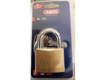 Hänglås./Abus 75/50 Brass Padlock With 2 Dimple keys