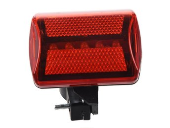 Bike Bicycle 5 LED Rear Tail Light Cycling Red Light MTB Bike Safety Warning