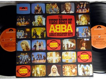 ABBA - The Very Best Of ABBA (ABBA's Greatest Hits) HOL, 2 LP 1976