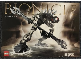 LEGO Bionicle 8591 (Vorahk) - Manual