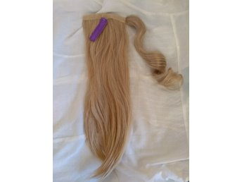 Ny blond extension, pony tail