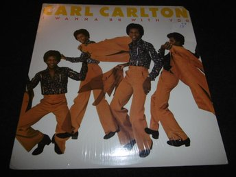 Carl Carlton - I wanna be with you - LP - 1975