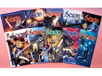 Scion #1-10 by Ron Marz/Jim Cheung (Floppies)