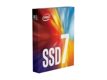 Intel SSD 256GB 760p M.2 PCIe (NVMe) 3.0 x4, 80mm. Retail Box