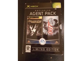 James Bond Agent Pack Limited Edition Xbox PAL Rare