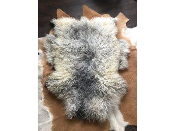 extra stort fårskinn