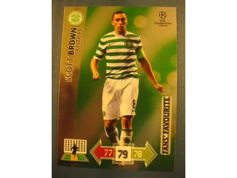 FANS FAVOURITE -  SCOTT BROWN - CELTIC - CHAMPIONS LEAGUE UPDATE 2012-2013