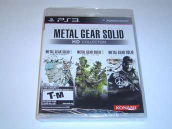 Metal Gear Solid HD Collection Sony Playstation 3 PS3 *NYTT*