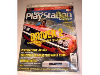 PLAYSTATION Mag  Nr36  HELT NY med CD NOV2000  DRIVER 2 mm.