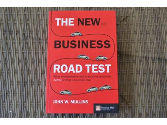 The New Business Road Test - John W.Mullins 2006 (2:a Utgåvan) Fint Skick