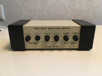 TAPE DECK SELECTOR SWITCH TD-20