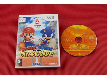 MARIO & SONIC A THE OLYMPIC GAMES till Nintendo Wii