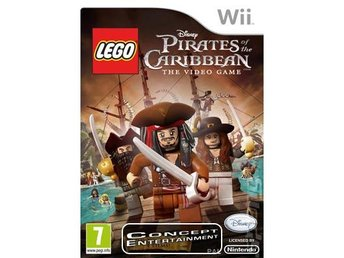 LEGO PIRATES OF THE CARIBBEAN THE VIDEO GAME (komplett) till Nintendo Wii