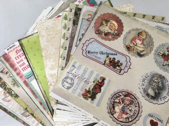 MEGAPAKET scrapbookingpapper JUL 12x12 43 st