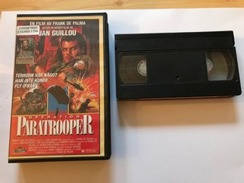 VHS Operation Paratrooper - Out on bail - 2 filmer, svensk text